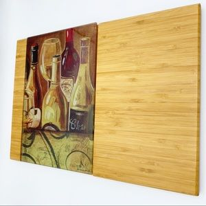 Gregory Gorham art cutting board
